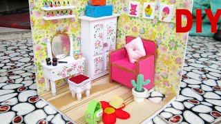 DIY Miniature Dollhouse Beauty room ( Full video) /  Nhà mô hình DIY thu nhỏ cho búp bê / Ami DIY