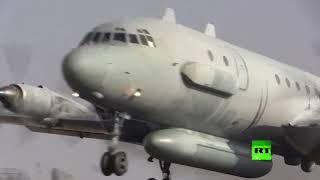 طائرات حربية روسية تتدرب على التزود بالوقود فوق المتوسط