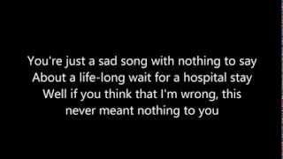 Disenchanted   Lyrics   My Chemical Romance