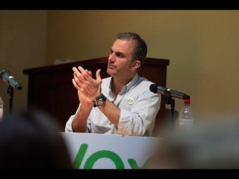Javier Ortega en Sant Vicenç dels Horts #EspañaViva