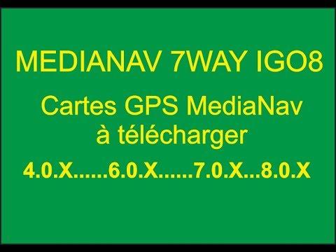 MediaNav - Cartes GPS MediaNav à télécharger