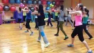 "Zumba® Toning ""WORK"" | choreo by Lena Prudnikova| ZIN 49"