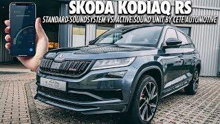 VERGLEICH: SKODA SOUND GENERATOR VS CETE SOUNDMODUL | Kodiaq RS 2019 Soundsystem