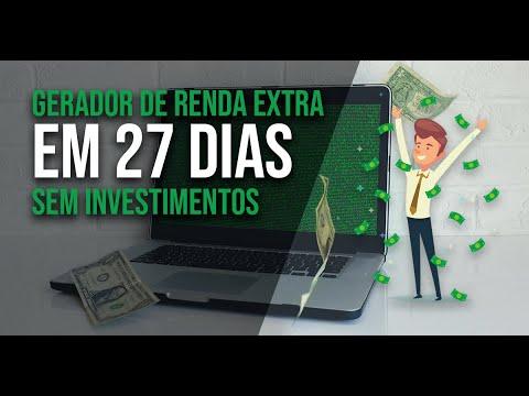 """Workshop Online de """"GERADOR DE EXTRA EM 27 DIAS SEM FAZER INVESTIMENTOS"""""""