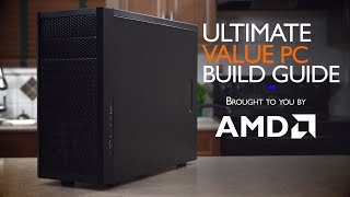 """ULTIMATE AMD Value APU PC Computer """"How To"""" Build Guide"""