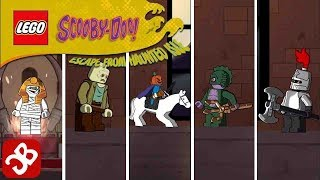 LEGO Scooby-Doo Haunted Isle (By The LEGO Group) All Boss Fights - Gameplay Video