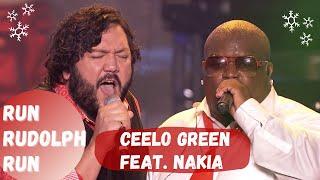 """CeeLo Green Feat. Nakia   """"Run Rudolph Run"""" [Live]"""