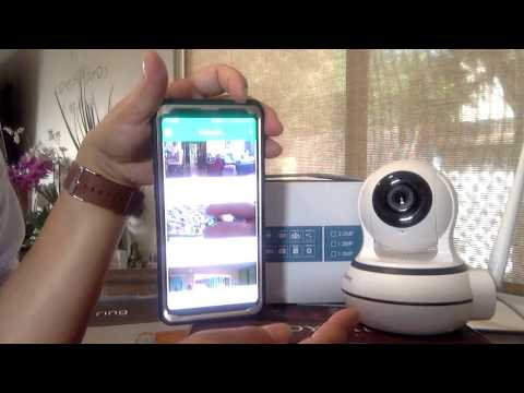Review elinksmart wireless security monitor camera no cloud service needed