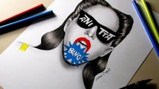 Bang (clipe oficial) - Anitta -Desenho
