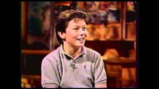 Jerry O'Connell Teen Interview 1986