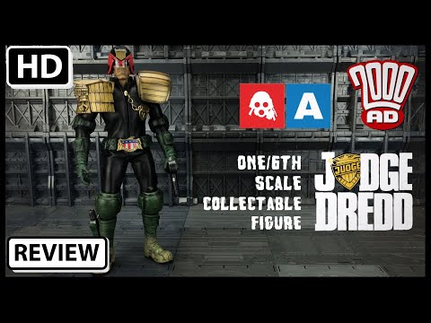 ThreeA 2000AD 1/6 Scale JUDGE DREDD Collectable Action Figure review