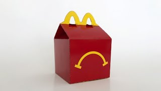 Kid eats happy meal gone wrong
