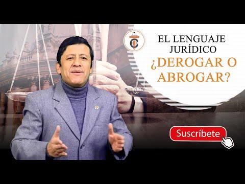 ¿DEROGAR O ABROGAR? - TC159