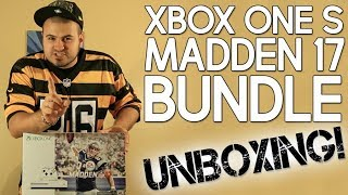 Exclusive: Xbox One S Madden 17 Bundle Unboxing