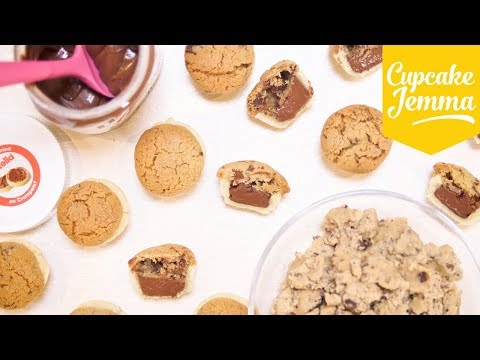 How to Make Mini Nutella Pies! | Cupcake Jemma
