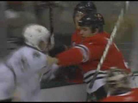 Brent Seabrook vs Steve Ott