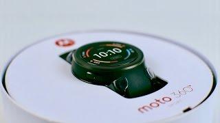 Moto 360 Sport Review - Was taugt die Sport-Smartwatch?