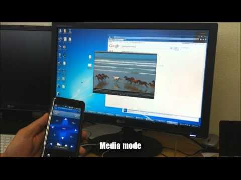 Video of Sensor Mouse