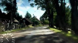 preview picture of video 'Mazury (Ruciane Nida) - Dzienny Przejazd 001'