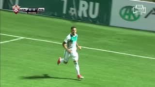 Ахмат - Рубин - 1:0. Гол и лучшие моменты