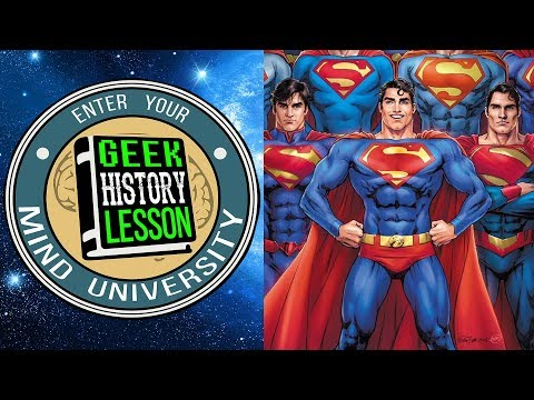 Best Superman Artists (Comic Source Crossover Episode) - Geek History Lesson