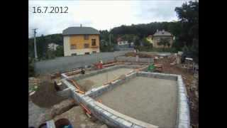 Stavba Domu - Základy - 1.etapa