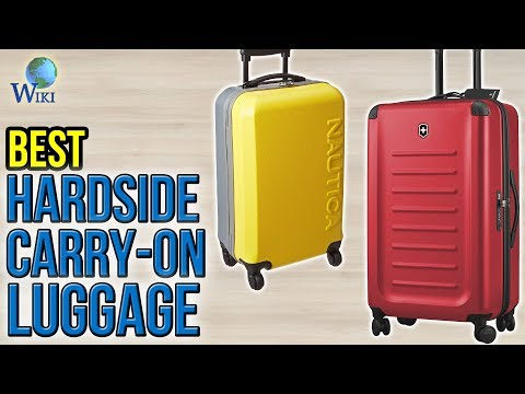 10 Best Hardside Carry-On Luggage 2017