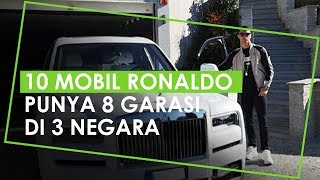10 Mobil Mewah Christiano Ronaldo yang Termahal Rp32,7 Miliar, Punya 8 Garasi di 3 Negara