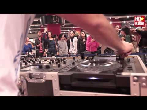 SHOWCASE DE DJ VAN AU VIRGIN MEGASTORE DE RABAT - 07/12/13