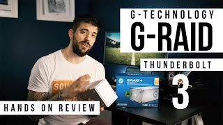 STORAGE FOR CREATORS - G-Technology G-RAID Thunderbolt 3 Hands On Review