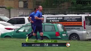 SILVER DIVISION | VIT STROY - CIKLUM 7:4 (Обзор) #SFCK Street Football Challenge Kiev