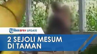Viral Video Sejoli Berbuat Mesum Siang Bolong di Taman Ponorogo, Perekam Mengaku sampai Gemetar