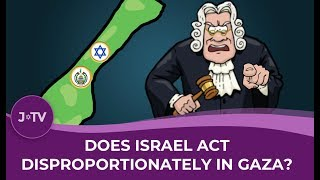 WATCH: Does Israel act disproportionately in Gaza? Not according to Arieh Miller...