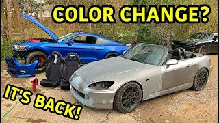 Rebuilding A Wrecked Honda S2000 Part 8