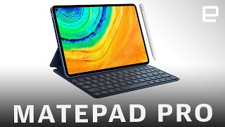 Huawei's answer to the iPad Pro is the 10.8-inch Huawei MatePad Pro