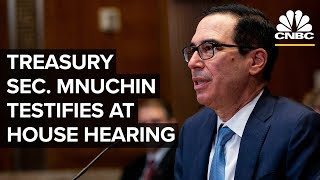 Treasury Secretary Steven Mnuchin testifies at House hearing - 05/22/2019