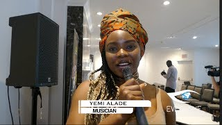 Yemi Alade Interview With Eve's Eye | Africa All Star Concert Performance