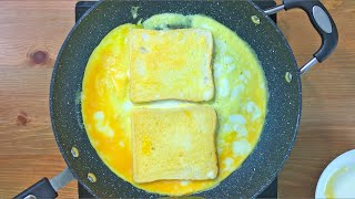 Egg Sandwich Recipe • Egg Recipes For Breakfast • French Toast Recipe • Bread Omelette Recipe