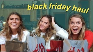 BLACK FRIDAY HAUL with my sisters! | Summer Mckeen