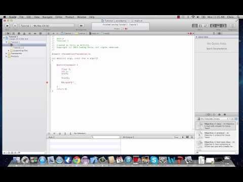 Objective-C Programming Tutorial 4- Type Cast Operator