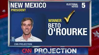 2020 Election Night | Beto O'Rourke vs Donald Trump
