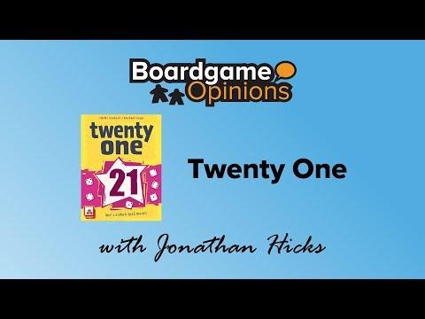 Boardgame Opinions: Twenty One