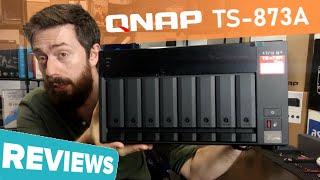 QNAP TS-873A NAS Review
