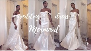 MAKING A MERMAID WEDDING GOWN  | GIVEAWAY