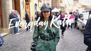 How I Planned My OOTDs in Rome | Everyday Kath