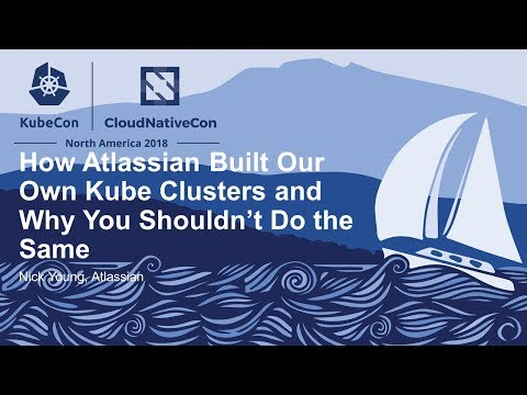 Kubernetes Atlassian video