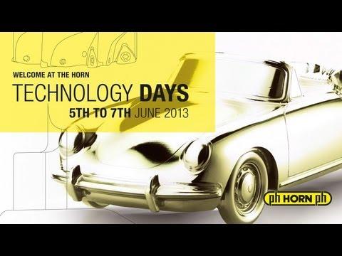 HORN Technology Days 2013