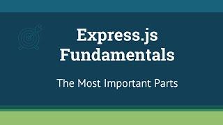 Express.js Tutorial - Build Apps with Node.js