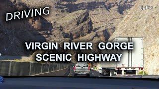Driving Virgin River Gorge Scenic Drive