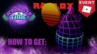 how to get retro egg the geometric in egg hunt 2019